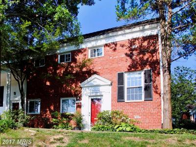 Parkfairfax Townhouse For Sale: 3406 Martha Custis Drive