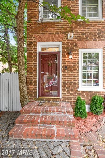 Alexandria Townhouse For Sale: 421 Saint Asaph Street