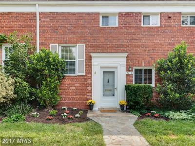 Alexandria Townhouse For Sale: 3114 Ravensworth Place #214