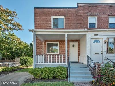 Alexandria Townhouse For Sale: 3009 Fulton Street