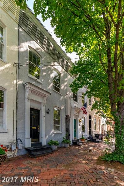 Old Town Townhouse For Sale: 1311 Prince Street