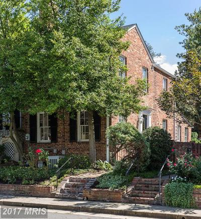 Alexandria Townhouse For Sale: 718 Royal Street S