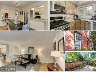 Alexandria Townhouse For Sale: 411 Green Street
