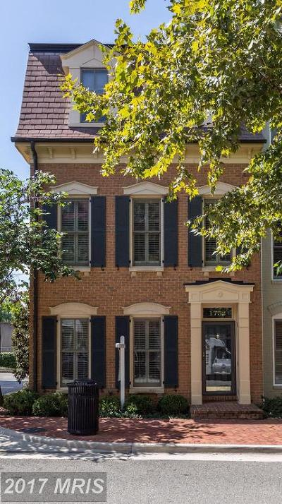 Alexandria Townhouse For Sale: 1752 Potomac Greens Drive