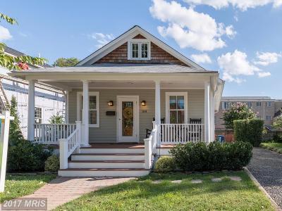 Alexandria Single Family Home For Sale: 109 Custis Avenue E