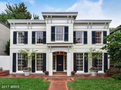 Alexandria VA Single Family Home For Sale: $3,295,000