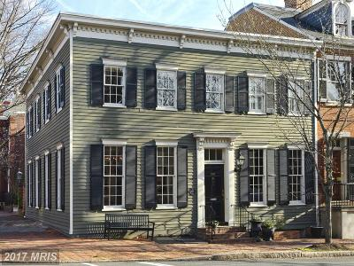 Old Town Townhouse For Sale: 523 Duke Street