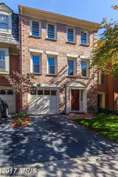 Alexandria Townhouse For Sale: 5125 Heritage Lane