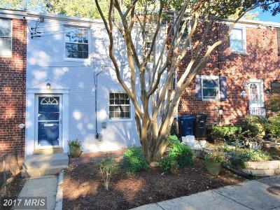 Alexandria Condo For Sale: 231 Burgess Avenue