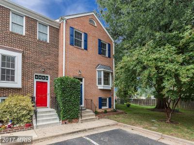 Alexandria Townhouse For Sale: 3852 Brighton Court