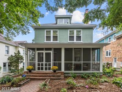 Alexandria VA Single Family Home For Sale: $1,149,000