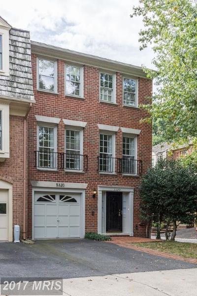 Alexandria Townhouse For Sale: 5320 Echols Avenue