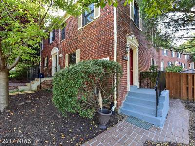 Alexandria Townhouse For Sale: 3214 Landover Street