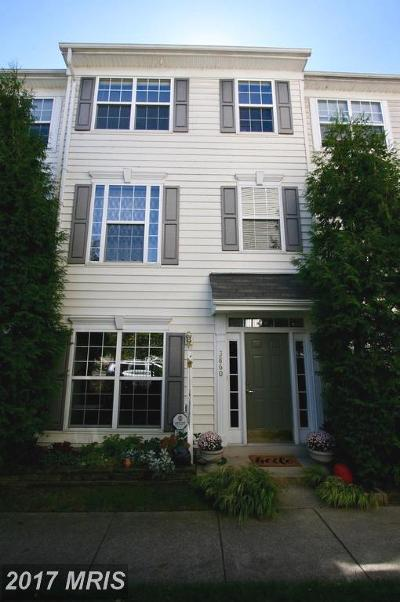 Alexandria Townhouse For Sale: 3860 Dominion Mill Drive