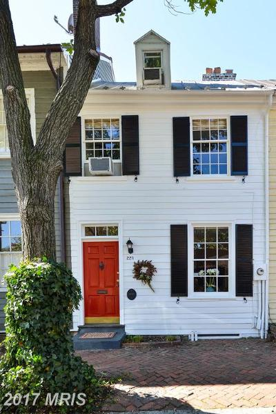 Alexandria Townhouse For Sale: 225 Lee Street S