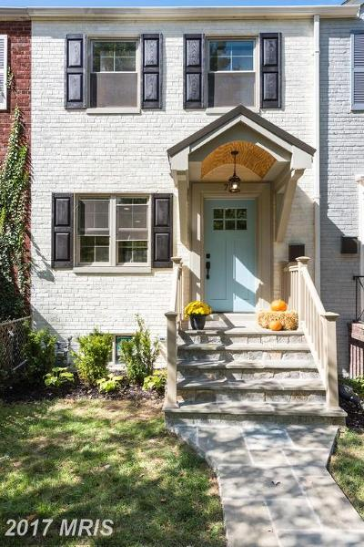 Alexandria Townhouse For Sale: 717 Fayette Street S