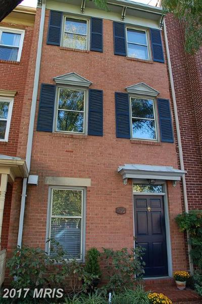 Alexandria Townhouse For Sale: 510 West Street N