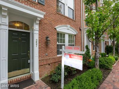 Alexandria Townhouse For Sale: 257 Medlock Lane