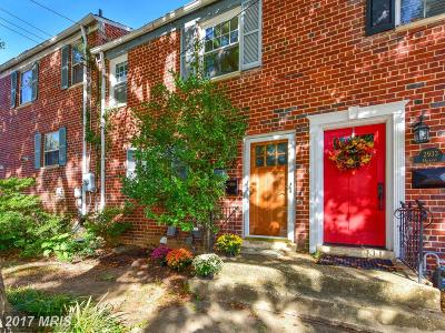 Alexandria Townhouse For Sale: 2935 Hickory Street