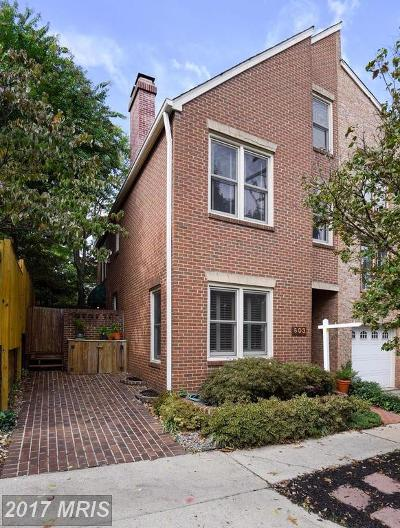 Alexandria Townhouse For Sale: 603 Columbus Street S