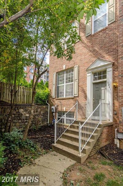 Alexandria Townhouse For Sale: 6041 Ricketts Walk