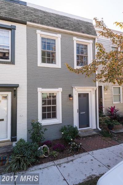 Alexandria Townhouse For Sale: 908 Pendleton Street