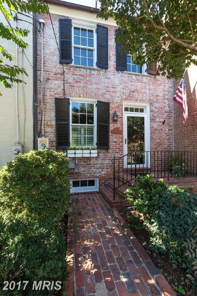 Alexandria Townhouse For Sale: 717 Royal Street S