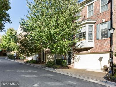 Alexandria Townhouse For Sale: 4633 Knight Place