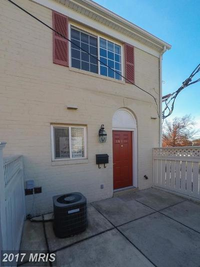 Alexandria Single Family Home For Sale: 1401 Van Dorn Street #A
