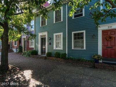 Old Town, Old Town Alexandria Condo For Sale: 308 Alfred Street N