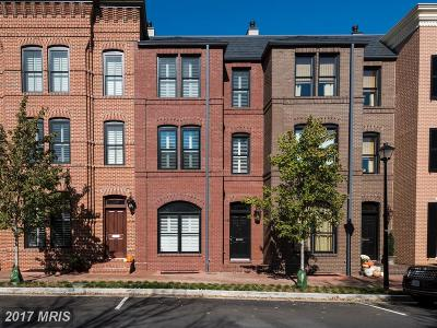 Old Town Townhouse For Sale: 509 Oronoco Street