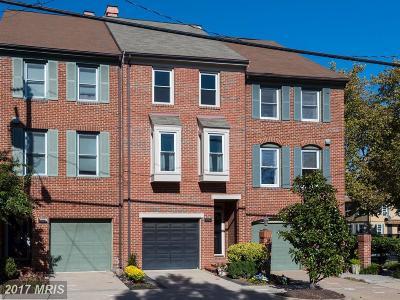 Alexandria Townhouse For Sale: 1003 Pendleton Street
