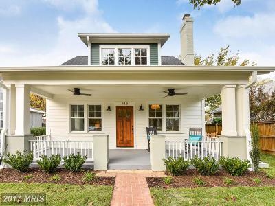 Alexandria VA Single Family Home For Sale: $1,399,900