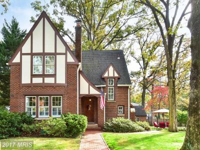 Alexandria Single Family Home For Sale: 608 Woodland Terrace