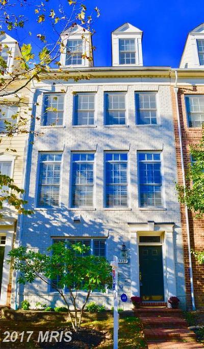 Alexandria Townhouse For Sale: 5232 Tancreti Lane
