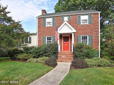 Alexandria Single Family Home For Sale: 1405 Kenwood Avenue