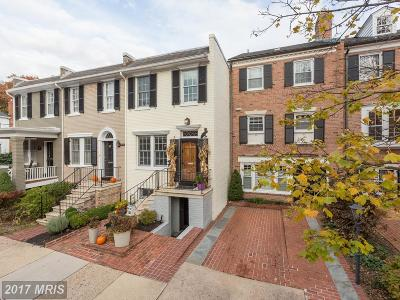 Alexandria Townhouse For Sale: 406 Pitt Street S
