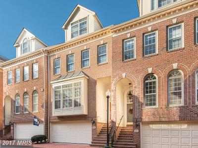 Alexandria Townhouse For Sale: 818 Rivergate Place