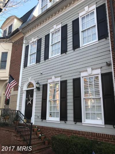 Alexandria Townhouse For Sale: 411 N Pitt Street