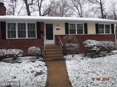 Alexandria Single Family Home For Sale: 2340 Early Street