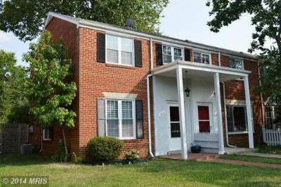 Alexandria VA Townhouse Sold: $419,900