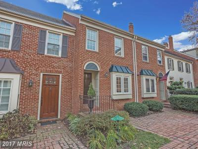 Alexandria Townhouse For Sale: 1221 Portner Road