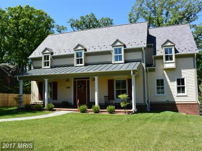 Alexandria Single Family Home For Sale: 2436 Ridge Road Drive
