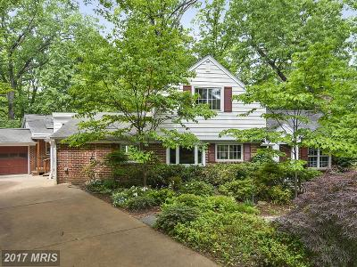 Alexandria Single Family Home For Sale: 3306 Circle Hill Road