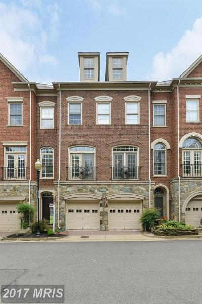 Cameron Station Townhouse For Sale: 5199 Brawner Place