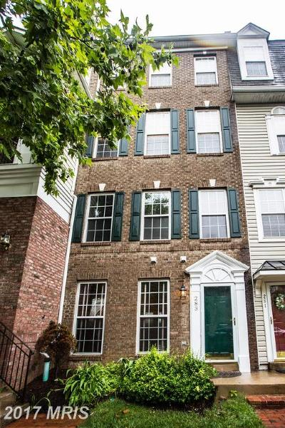 Cameron Station Townhouse For Sale: 283 Cameron Station Boulevard #510