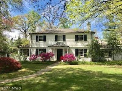 Guilford, Guilford/Jhu Single Family Home For Sale: 4400 Norwood Road