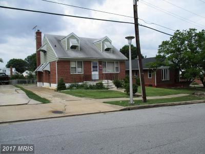 Baltimore Single Family Home For Sale: 2521 Moore Avenue