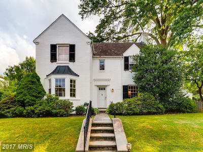 Baltimore Single Family Home For Sale: 209 Saint Dunstans Road