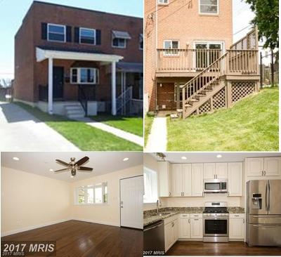 Hampden, Hampden Hon!! Townhouse For Sale: 1205 Roland Heights Avenue